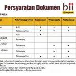 Tabel Kredit Pinjaman Bank BII MayBank Oktober 2016