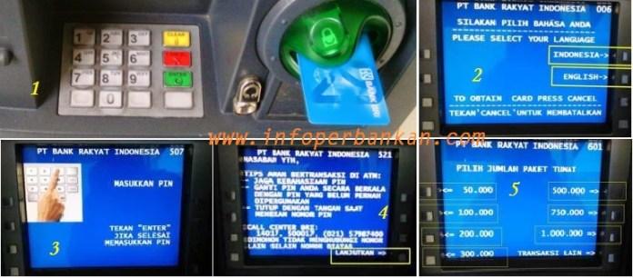 Cara Mengambil Uang lewat ATM BRI