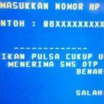 Cara Daftar SMS Banking Bank Mandiri via ATM