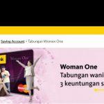 Tabungan Women One BII Maybank, Tabungan Khusus Wanita Bebas Administrasi Bulanan