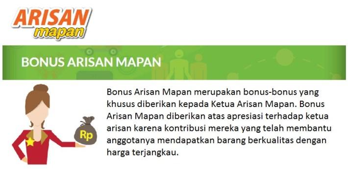 Bonus Arisan Mapan