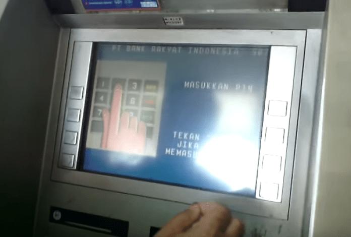 Masukan PIN ATM BRI
