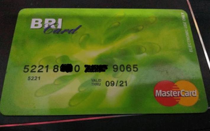 Buat Kartu ATM BRI