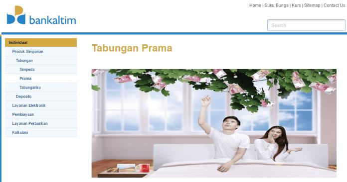 Tabungan Prama Bank Kaltim