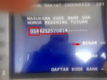 Transfer Uang dari BRI ke BCA