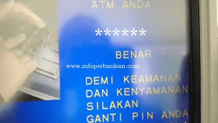 Masukan PIN ATM Anda