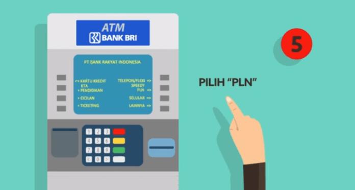 Bayar Tagihan Listrik lewat ATM BRI