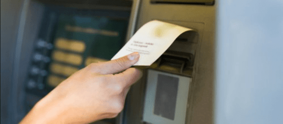 Struk ATM tidak keluar setelah transfer