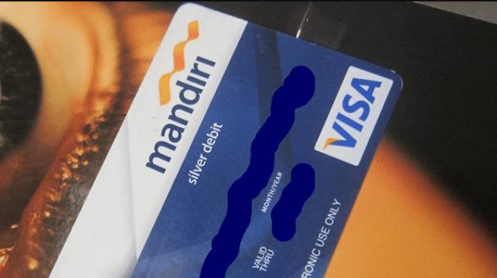 Kartu ATM Mandiri Rusak