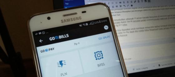 Go-Bills, Fitur Pembayaran Gojek