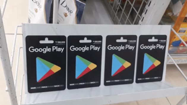Cara Beli Voucher Google Play di Indomaret
