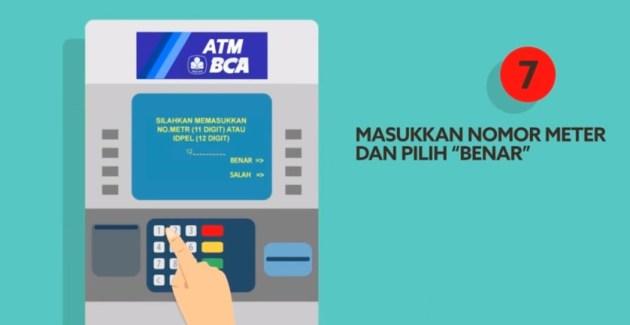 Cara Beli Token Listrik Prabayar Lewat ATM BCA