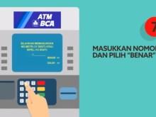 Beli Token Listrik PLN di ATM BCA