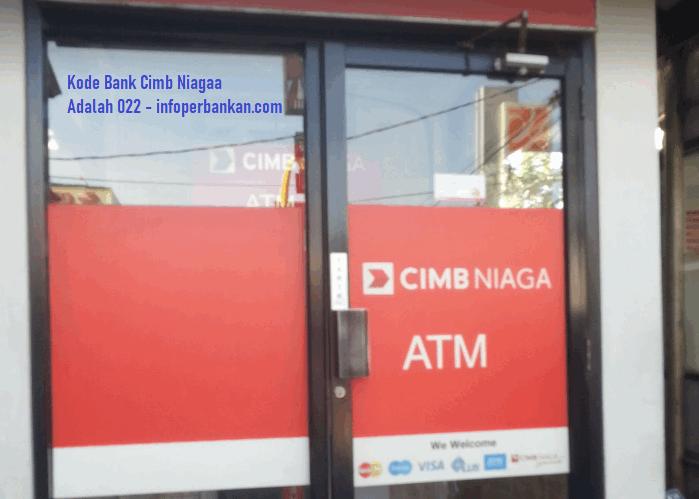 kode transfer bank cimb niaga