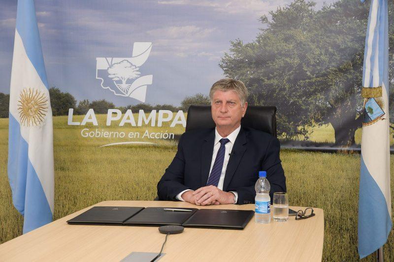 """Ziliotto participó del lanzamiento del Plan de Viviendas: """"Hace muchos años  que un Gobierno nacional no construía viviendas en La Pampa"""" – infopico.com"""