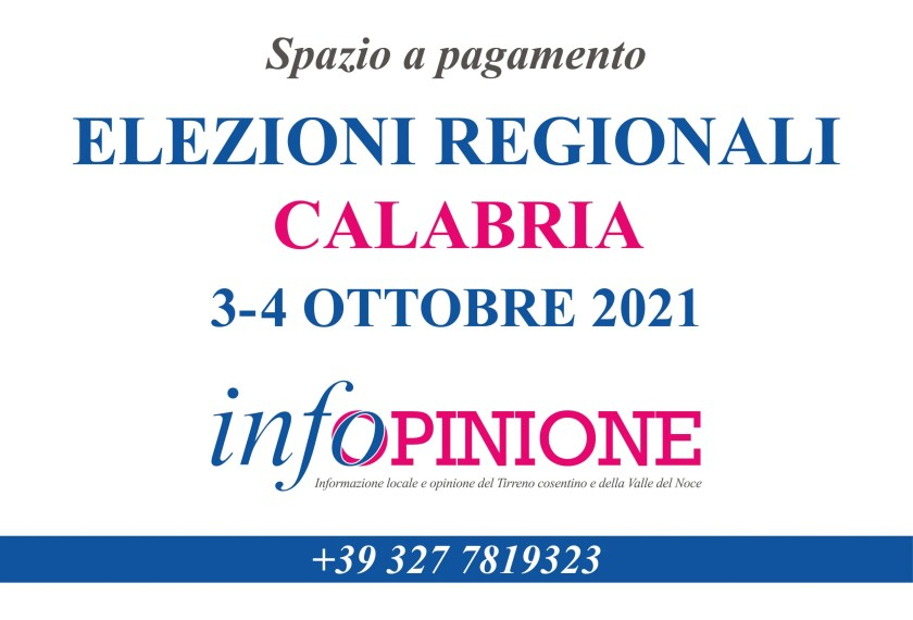 elections calabria region 2021
