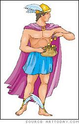 Hermes (Roman name: Mercury)