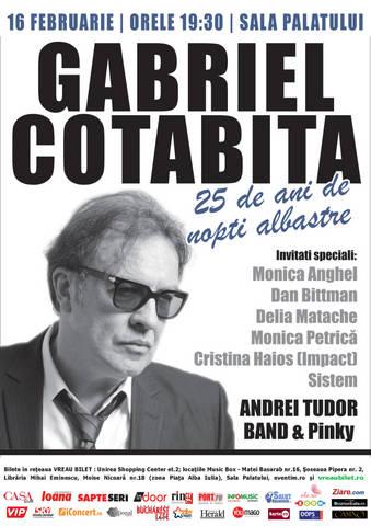 Gabriel Cotabita petrece o