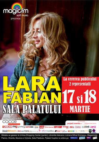 Au inceput pregatirile pentru intampinarea Larei Fabian in Romania!