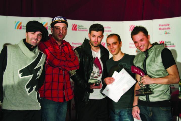 Simplu si Alexandra Stan,  castigatori la Gala Premiilor Muzicale Radio Romania Actualitati