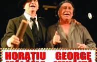 """Horatiu Malaele si George Mihaita in """"Femeia care si-a pierdut jartierele"""" la Constanta"""