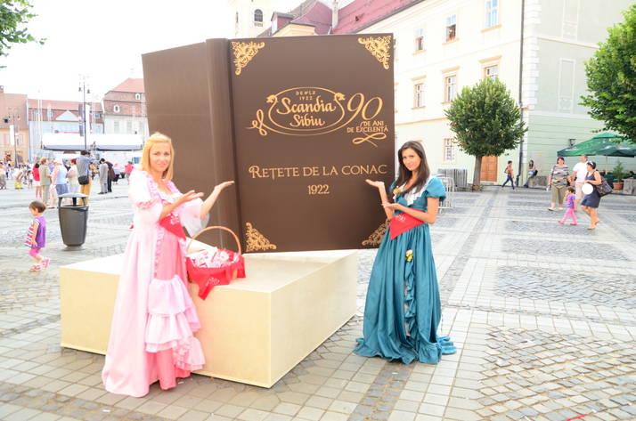 Scandia Sibiu- cea mai mare carte de bucate din SE Europei