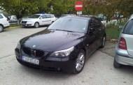 BMW  furat, depistat în P.T.F. Vama Veche