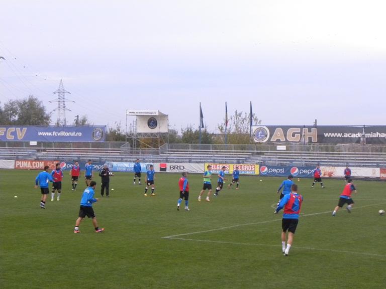 FC Viitorul şi-a reluat pregătirile
