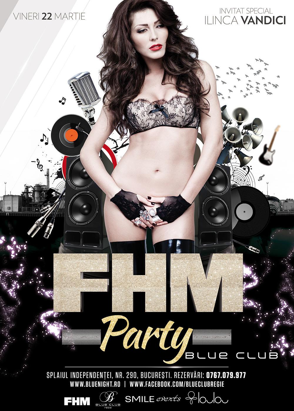 Ilinca Vandici va da aufografe fanilor în ArenA Pub la petrecerea FHM