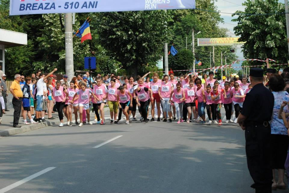 Regina Prahovei 2013 a alergat 5000 m la un eveniment organizat la Breaza!