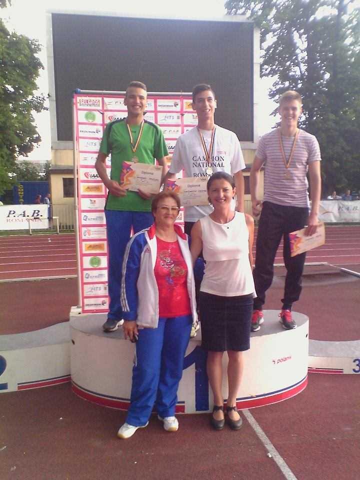 10 medalii pentru atletii constanteni la Campionatul National de Juniori 1