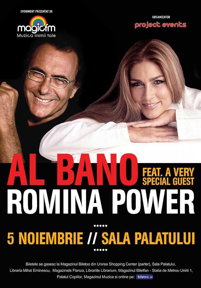 Al Bano si Romina Power concerteaza in premiera la Bucuresti!