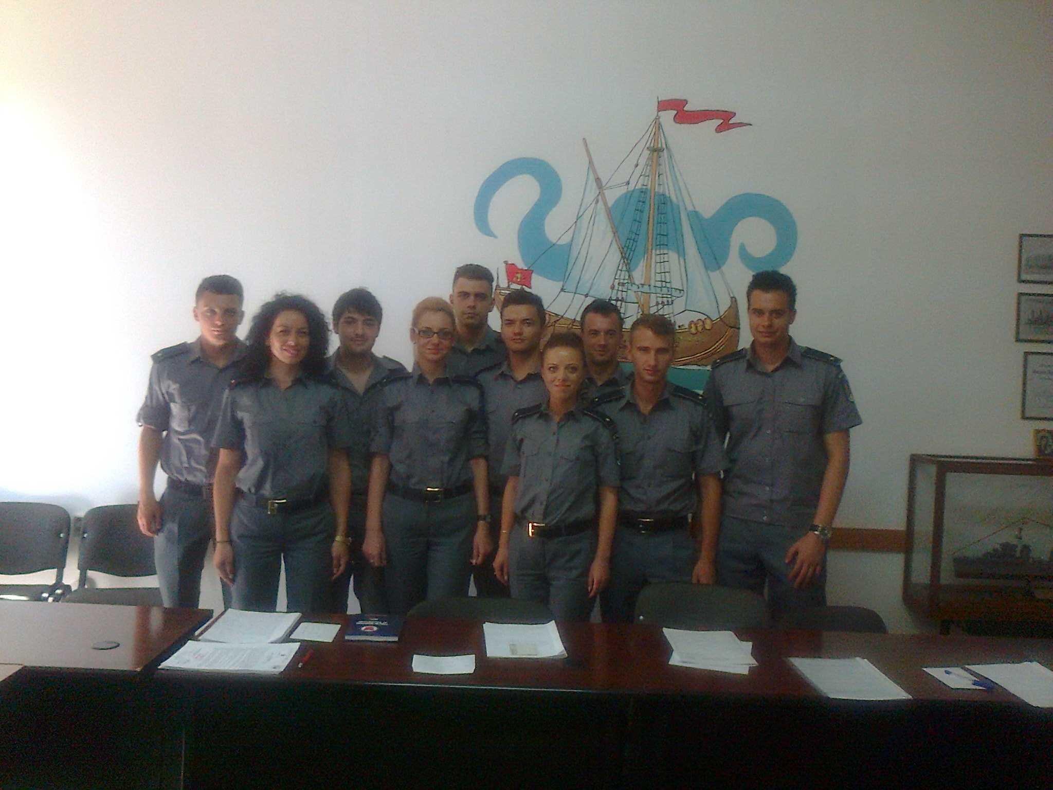 Zece tineri ofiţeri au fost încadraţi la Garda de Coastă