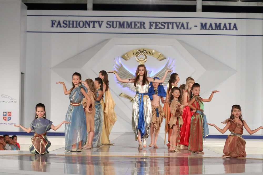 Fashiontv aduce la Mamaia creatiile celebrelor case de moda internationale