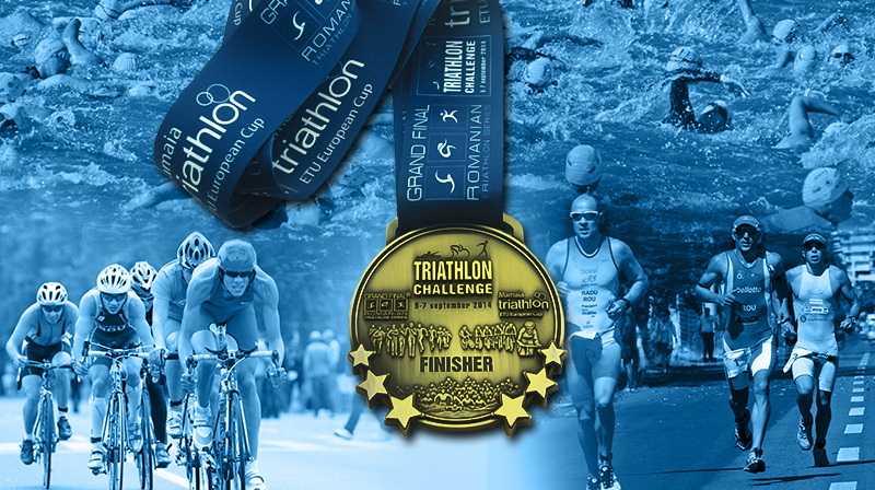 TRIATHLON CHALLENGE, eveniment de calibru internațional la Mamaia