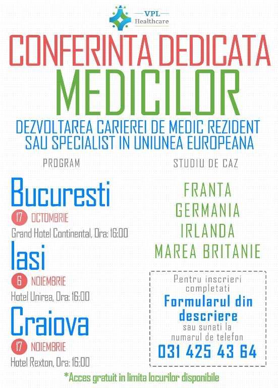 Conferinta Dedicata Medicilor