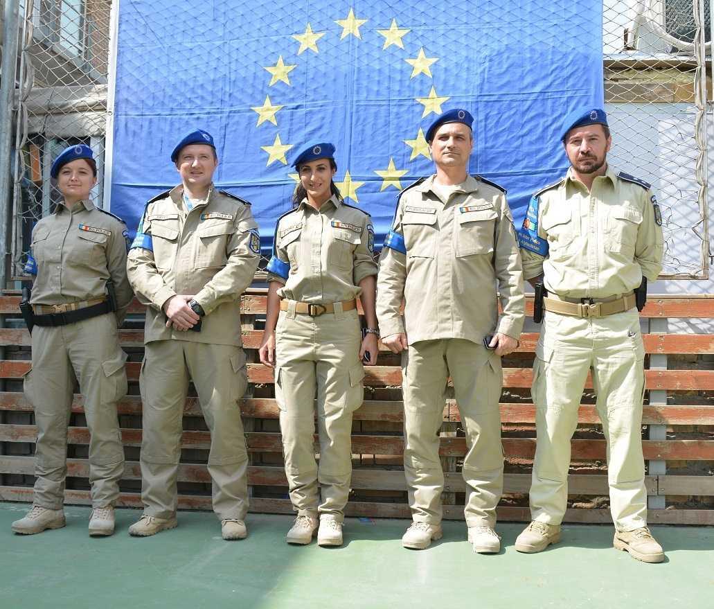Medalii acordate poliţiştilor români