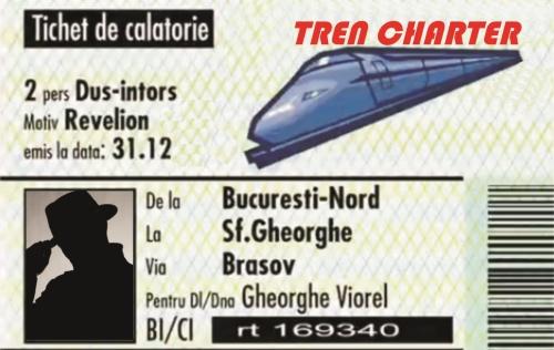 """""""Tren Charter"""" , un pachet turistic """"altfel"""" in Romania"""