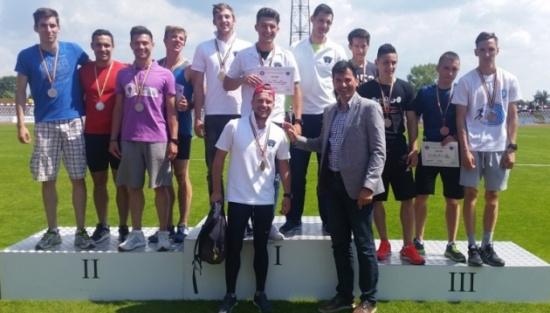 """Studenţii de la FEFS """"Ovidius"""", campioni naţionali la atletism"""