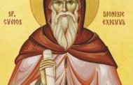 Hram la mănăstirea Sfinții Dionisie Exiguul și Efrem cel Nou