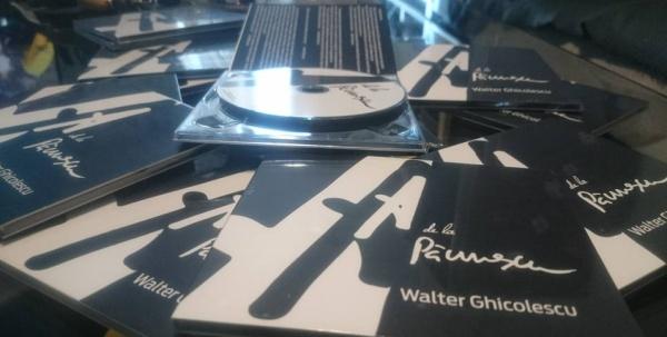 """Walter Ghicolescu lansează albumul """"A de la Păunescu"""""""