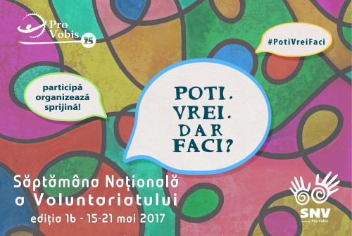 Săptămâna Naţională a Voluntariatului la Constanţa