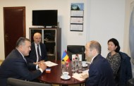Consulul General al Republicii Turcia la Constanţa, E.S. domnul Uyar Mustafa Sertel, în vizită la CCINA Constanţa