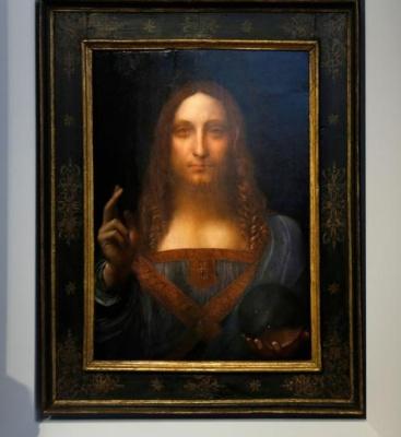Tablou de Leonardo da Vinci vândut pentru suma record de 450,3 milioane de dolari