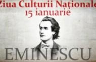 15 ianuarie - Ziua Culturii Naţionale