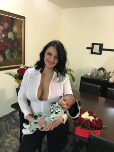Cum arata Andreea Dogaru la 3 luni de când a născut!