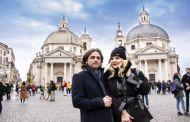Olga Bălan și Dragoș Zaharia, vacanță de miere la Roma!