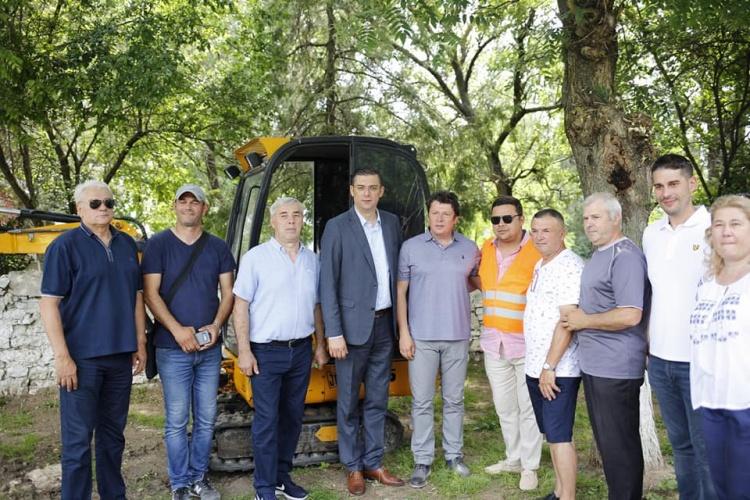 Lucrări pentru înființarea rețelei de alimentare cu gaze la Limanu,Vama Veche și 2 Mai