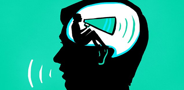 """Cine este """"vocea"""" interioară și de ce ne certăm mereu cu ea?"""