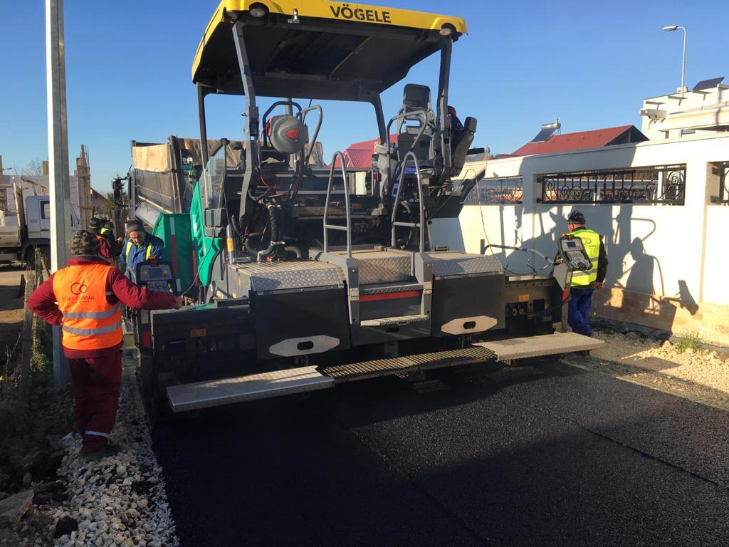 Lucrări de asfaltare în Cartierul Baba Novac